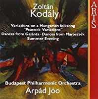 Peacock Variations / Dances From Galanta by BUDAPEST PHILHARMONIC ORCHESTRA (1998-03-17)