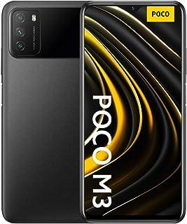 موبايل شاومي بوكو M3 بشريحتين اتصال - شاشة 6.53 بوصة، 128 جيجابايت، 4 جيجابايت رام، شبكة الجيل الرابع ال تي اي - اسود باور