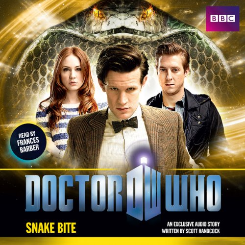 Doctor Who: Snake Bite audiobook cover art