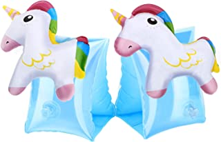 HeySplash Inflatable Arm Bands for Kids Floatation Sleeves Floats Tube Water Wings Swimming Arm Floats Cute