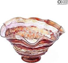 Original Murano Glass OMG Sbruffi - Centro de Mesa (Cristal de Murano)