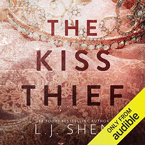 The Kiss Thief audiobook cover art