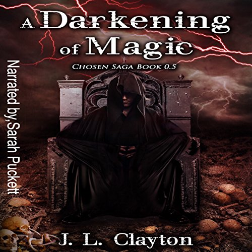 A Darkening of Magic audiobook cover art