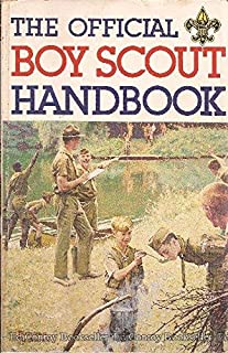 The Official Boy Scout Handbook - (Norman Rockwell Cover)