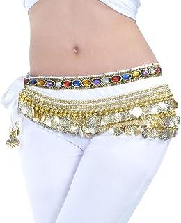 MagiDeal Cintura In Sciarpa Per Danza Sciarpa Da Fianchi Gonna Per Danzatrici Di Ventre Accessori Per Belly Dance Belt