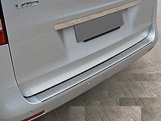Protezione bagagliaio posteriore per VITO CLASE V W447 a partire dal 2014 in acciaio inox protezione per interno bagagliaio paraurti