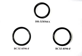 3 O-Ring Gaskets for Ford F150 5.0L Engine Radiator Hose And T-pipe coolant leak Repair/Replacement DR3Z8566A & 2x BC3Z8590F