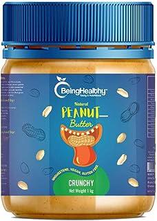 Being_Healthy Peanut Butter (Crunchy, 1 kg)