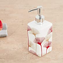 Home Centre Hudson Floral Print Soap Dispenser
