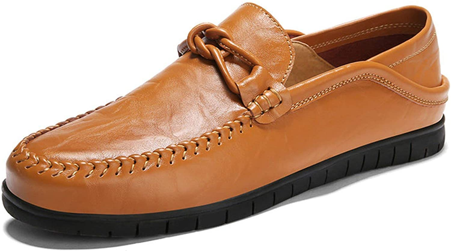 Leather Men Casual shoes Luxury Brand 2018 Mens Single Loafers Moccasins Slip On Italian Driving shoes