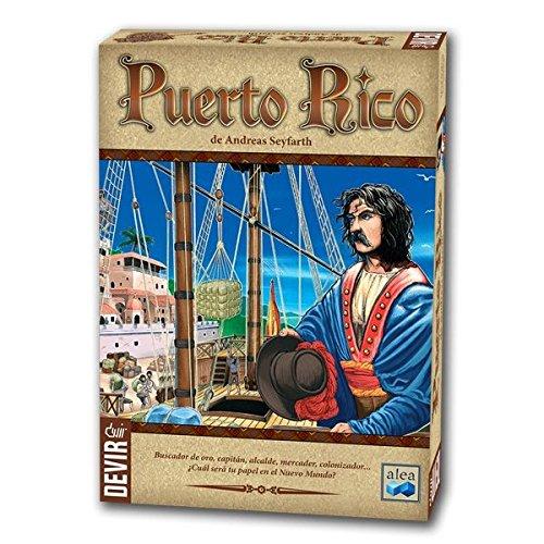 Devir- Puerto Rico, Juego de Mesa (BGPUERTO)