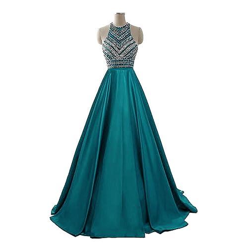 Teal Dress Prom Dress