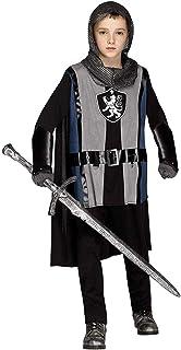 Fun World Lionheart Knight Costume, Large 12 - 14, Multicolor