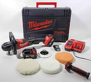 Milwaukee 4933451550 M18 Fuel Car Polisher – M18fap 180-502x Brushless, 180 mm Disk, 2X M18B5