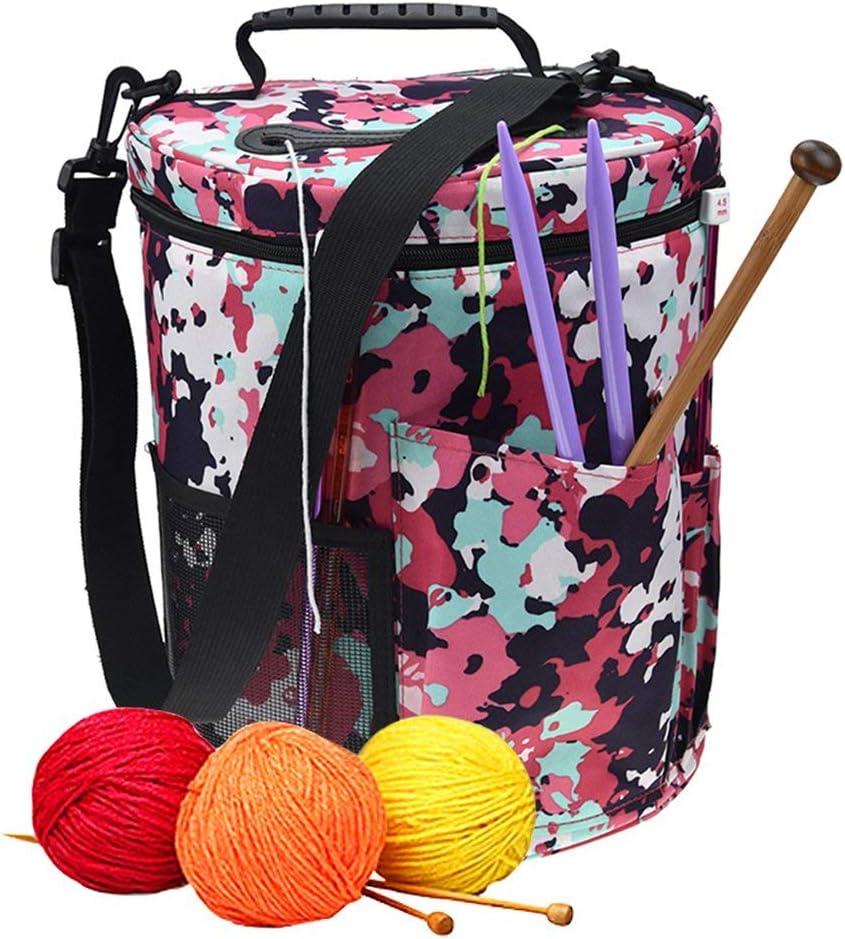 Popular standard Organizer for Knitting discount Bucket Wool Yarn Bag Storage