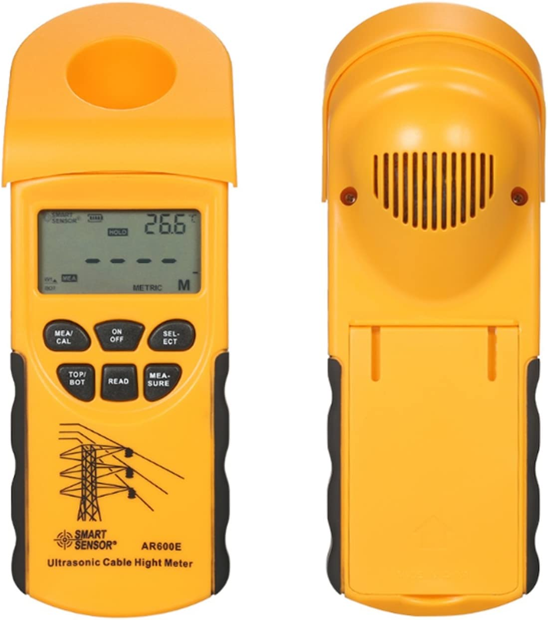 YEZIQ Digital Tester Ultrasonic Cable Cables Meter Height shop Super sale 6 Mea