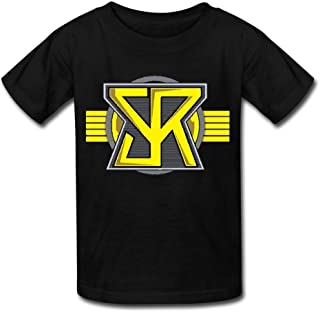 Cool How to Draw Seth Rollins T-Shirt Black for Youth