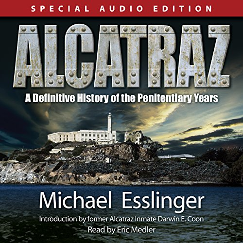 Alcatraz audiobook cover art