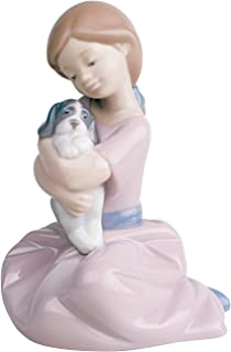 Nao by Lladro Collectible Porcelain Figurine: MY PUPPY LOVE - 5 1/2