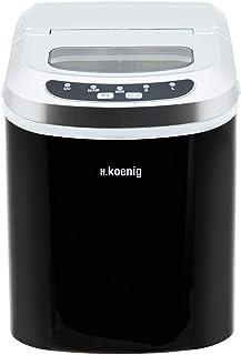H.Koenig KB12 Máquina silenciosa para Hacer Hielo, 100 W,