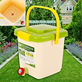 9L Lebensmittelabfall Behälter Mini Kompostbehälter 29x 30x 30 cm aus PP