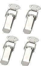 4x spansluiting roestvrij staal, ideaal als kistsluiting, klapsluiting, verschillende maten en varianten 75 mm Normal