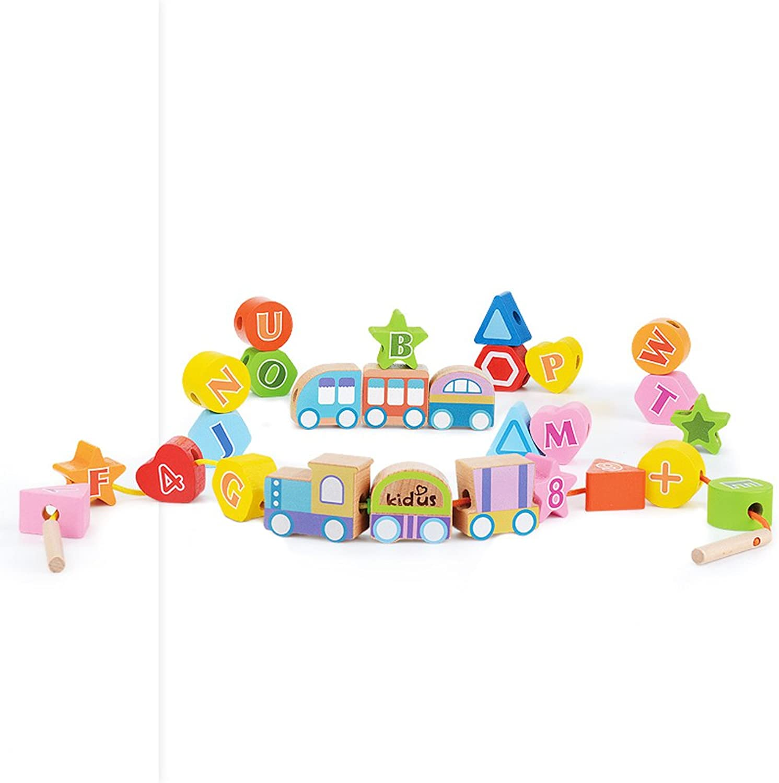 Hölzerne Aktivität Cube Beads Maze Multi-Funktions-Kinder Lernspielzeug Baby, geeignet für Alter 2 3 4 5 6 Jahre alt Kinder, Jungen und Mädchen Geburtstagsgeschenke (Farbe   B) B07FTQGTWH  Hohe Sicherheit   Erste Qualität