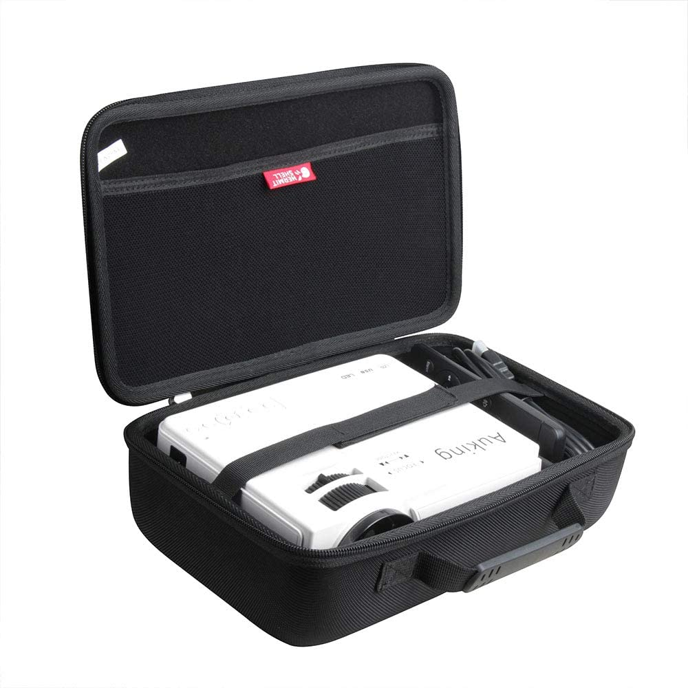 Hermitshell Travel Case for AuKing Mini Projector 2021 Upgraded Portable Video-Projector (Upgraded Version)