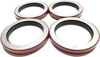 (Pack of 4) WPS Trailer Hub Wheel Unitized Oil Seal 10-51 (370150BGO) for 9K-10K GD Axles ID 2.875'' x OD 3.880''