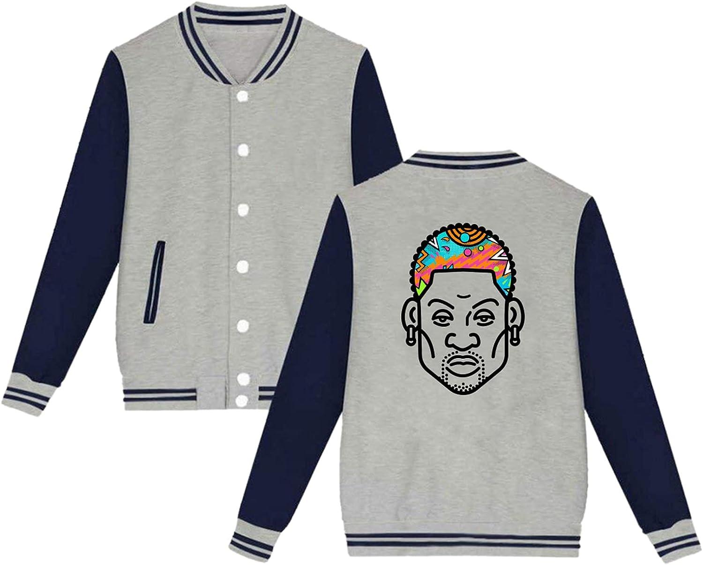 PELETNNTO Dennis Ranking TOP13 Rodman Outlet ☆ Free Shipping Rodzilla Baseball Jacket Uniform C Sport