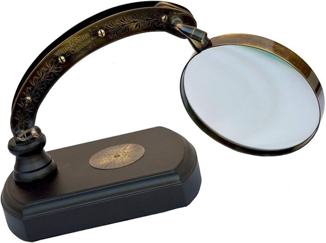 Nautical overseas Moveable 人気海外一番 Lens St 正規逆輸入品 Magnifiers Magnifying Vintage