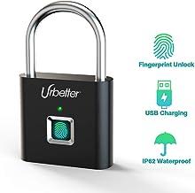 Areox U8 Fingerprint Lock Sistema de seguridad IP65 a prueba de golpes y resistente al agua con varias huellas dactilares