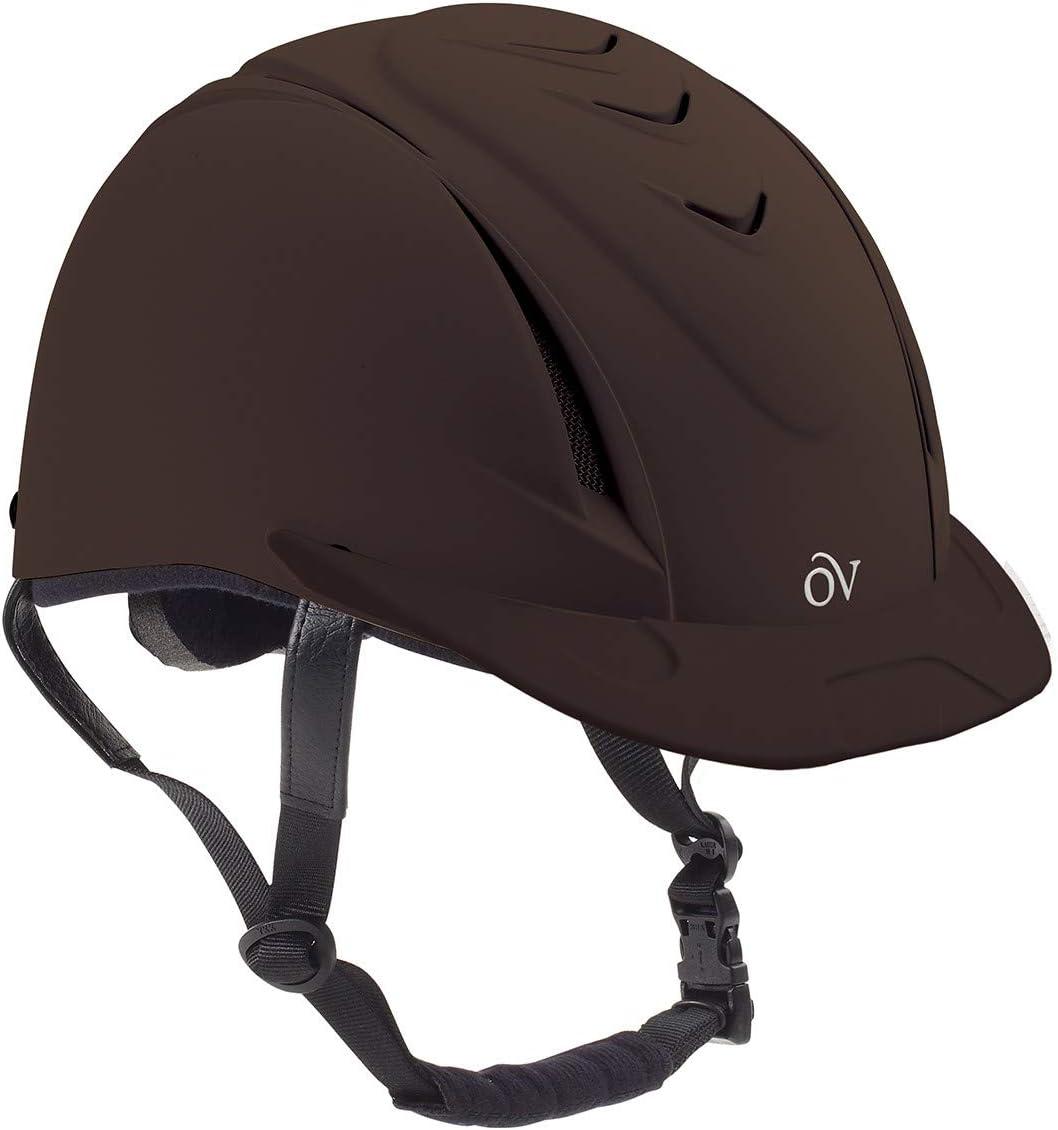 Ovation Girls' Schooler Deluxe Riding Helmet - 467566Pur : Sports & Outdoors