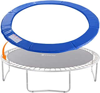 Exacme Trampoline Replacement Safety Pad Spring Cover Fits 16 15 14 13 12 10 8 Foot Frame, No Holes for Poles, Variety of Colors
