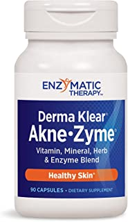 Enzymatic Therapy Derma Klear Akne-Zyme Blend, 90 Capsules