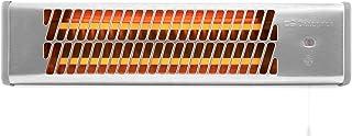 Orbegozo BB 5000 - Estufa de cuarzo para baño, selección de potencias mediante tirador, emisión instantánea de calor, pantalla orientable, 1200 W