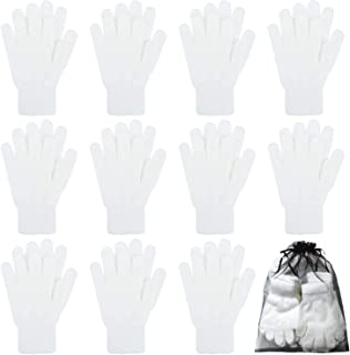 white drummers gloves