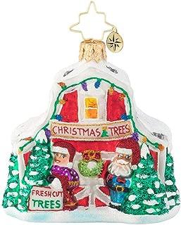 Christopher Radko North Pole Tree Farm Gem Christmas Ornament