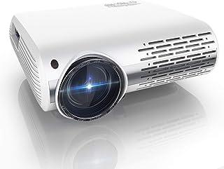 Proyector, YABER Y30 7000 Lúmenes Proyector Full HD 1920x1080P Proyector Cine en Casa Soporta 4K y Sonido HiFi, Ajuste Dig...