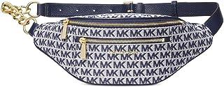 Michael Kors Mott Medium Logo Jaquard Waistpack Belt Bag