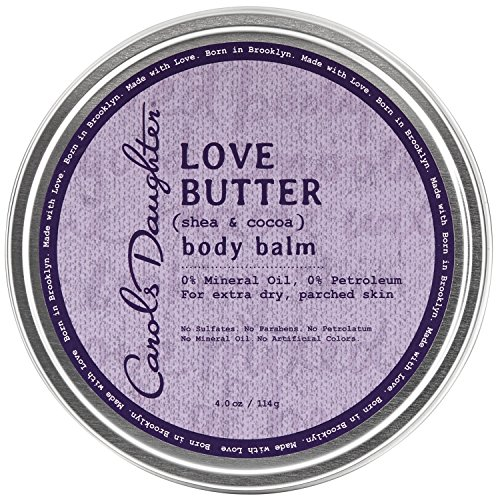 Carol's Daughter Nourishing Love Butter Body Balm with Shea Butter and Cocoa Butter for Extra Dry Parched Skin and No Parabens, 4 oz