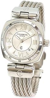 シャリオール CHARRIOL ニューアレキサンダー ALEXS レディース 腕時計 デイト シルバー 文字盤 ワイヤー ウォッチ 【中古】 90066843 [並行輸入品]