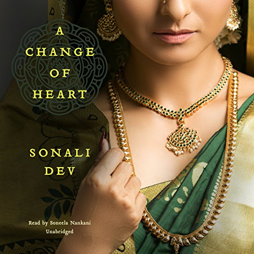 A Change of Heart                   By:                                                                                                                                 Sonali Dev                               Narrated by:                                                                                                                                 Soneela Nankani                      Length: 12 hrs and 36 mins     33 ratings     Overall 3.9