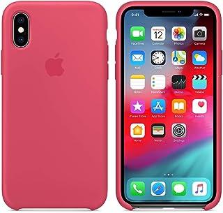 a62b2c88c3d Funda Silicona para iPhone XR Silicone Case, Logo Manzana, Textura Suave,  Forro Microfibra