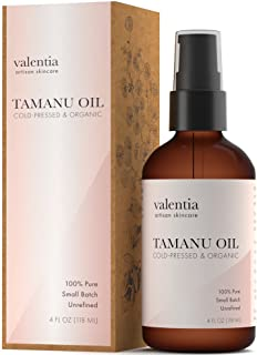 Valentia Organic Tamanu Oil 4 Ounce Unrefined