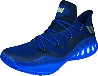 adidas Crazy Explosive Low Mens Basketball Trainers/Shoes - Blue