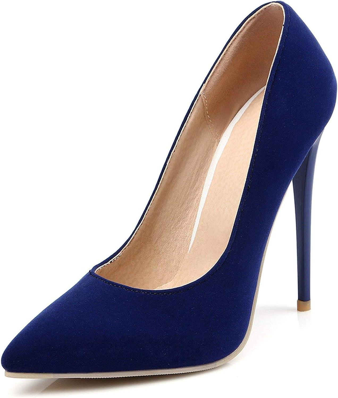 HANBINGPO 12cm Shallow Thin High Heels Pumps Dress Party Office Lady's Pumps Pointed Toe Summer Women shoes Stilettos women