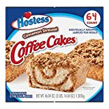 2 Pk. Hostess Cinnamon Streusel Coffee Cake (1.44oz / 32pk) Shipped & Sold by: Edible Deliveries