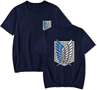 LKY STAR Attack On Titan Camiseta Shingeki no Kyojin Scouting Legion T-Shirt Cosplay