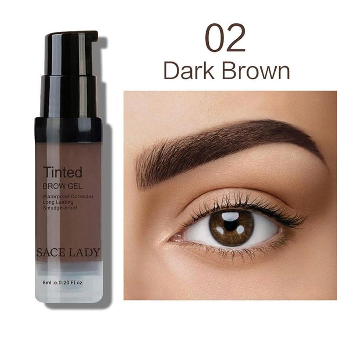 ブラインド憂鬱な指プロフェッショナルメイクアップ液体眉毛染め防水性と耐久性、退色しにくい